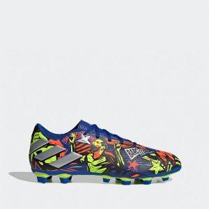 נעליים אדידס לגברים Adidas NEMEZIZ MESSI 19.4 FG - צבעוני