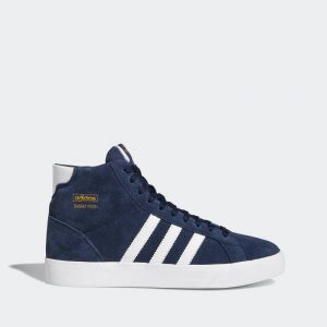 נעלי סניקרס אדידס לגברים Adidas Originals Basket Profi - כחול