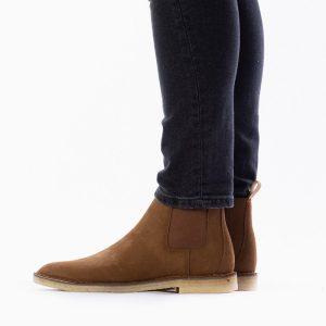 נעליים Clarks Originals לגברים Clarks Originals Desert Chelsea - חום