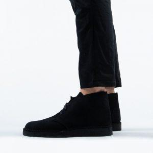 נעליים Clarks Originals לגברים Clarks Originals Desert Coal - שחור