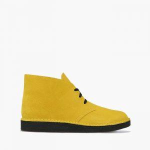 נעליים Clarks Originals לגברים Clarks Originals Desert Coal - צהוב