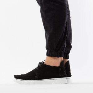 נעליים Clarks Originals לגברים Clarks Originals Seven Black Suede - שחור