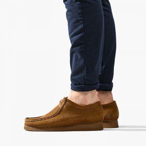 נעליים Clarks Originals לגברים Clarks Originals Wallabee - חום
