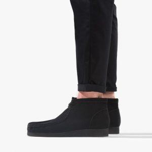 נעליים Clarks Originals לגברים Clarks Originals Wallabee - שחור מלא