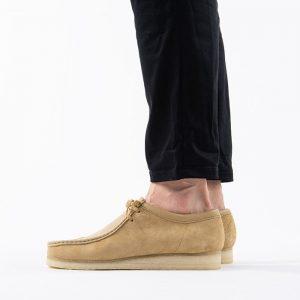 נעליים Clarks Originals לגברים Clarks Originals Wallabee - חום בהיר