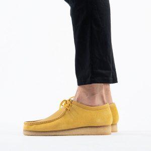 נעליים Clarks Originals לגברים Clarks Originals Wallabee - צהוב