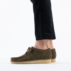 נעליים Clarks Originals לגברים Clarks Originals Wallabee - ירוק