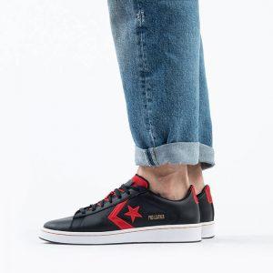 נעליים קונברס לגברים Converse Pro Leather Gold Standard - שחור