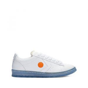 נעליים קונברס לגברים Converse x Rokit Pro Leather - לבן