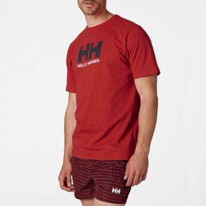 ביגוד הלי הנסן לגברים Helly Hansen Logo - אדום