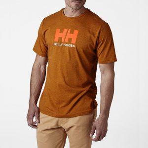 ביגוד הלי הנסן לגברים Helly Hansen Logo - חום