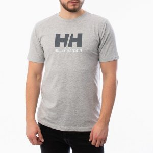 ביגוד הלי הנסן לגברים Helly Hansen Logo - אפור