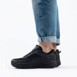 נעלי ריצה הוקה לגברים Hoka One One Bondi 7 - שחור