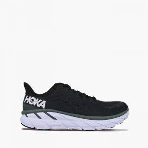 נעליים הוקה לגברים Hoka One One M Clifton 7 - שחור/לבן