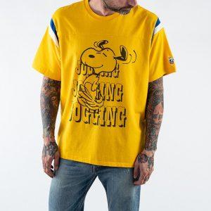 ביגוד ליוויס לגברים Levi's x Peanuts Jogging Snoopy - צהוב