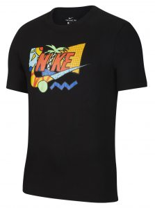 ביגוד נייק לגברים Nike NSW SS TEE SUMMER FUTURA - שחור