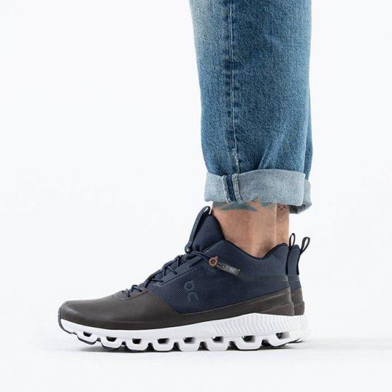 נעלי ריצה און לגברים On Running Cloud Hi - צבעוני כהה