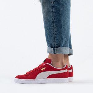 נעליים פומה לגברים PUMA Sudede+ Classic - אדום