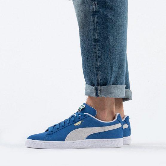 נעלי סניקרס פומה לגברים PUMA Sudede+ Classic - כחול