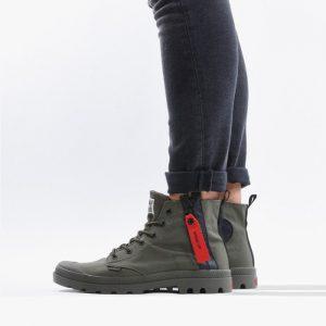 נעליים פלדיום לגברים Palladium Pampa Unzipped - ירוק