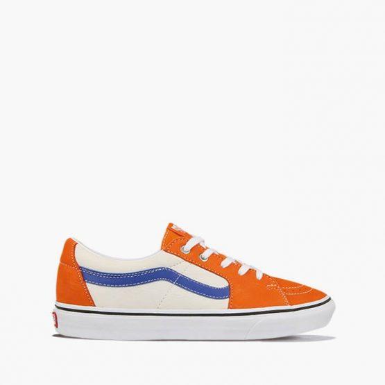 נעלי סניקרס ואנס לגברים Vans Sk8-Low - כתום