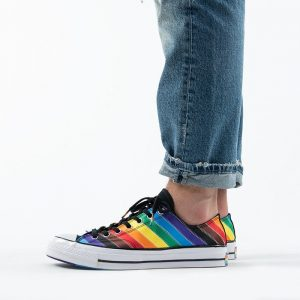 נעליים קונברס לגברים Converse Chuck 70 Low Top Pride Pride Never Stops - צבעוני