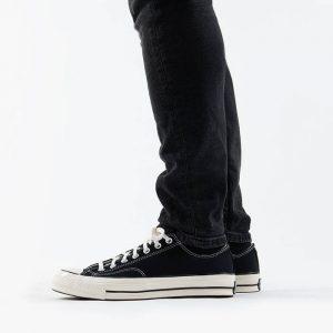 נעלי סניקרס קונברס לגברים Converse Chuck 70 OX - שחור