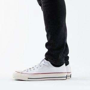 נעלי סניקרס קונברס לגברים Converse Chuck 70 OX - לבן