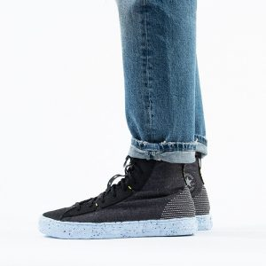 נעליים קונברס לגברים Converse Chuck Taylor All Star Crater High Top Renew Crater - שחור