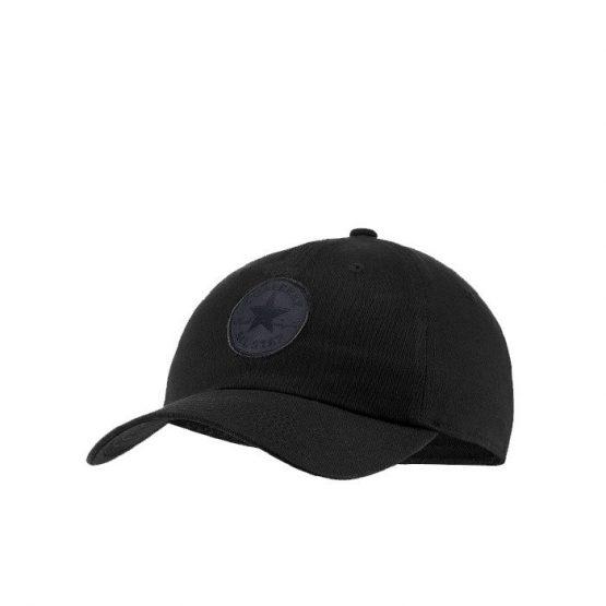 ביגוד קונברס לגברים Converse Tipoff Chuck Taylor Patch Baseball Cap - שחור