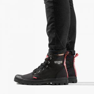 נעליים פלדיום לגברים Palladium Hi - שחור