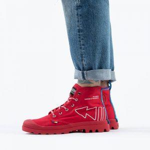 נעליים פלדיום לגברים Palladium Pampa Dare Rew FWD - אדום