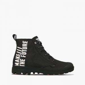 נעליים פלדיום לגברים Palladium Pampa Hi Future - שחור