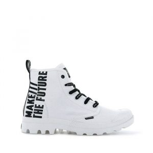 נעליים פלדיום לגברים Palladium Pampa Hi Future - לבן