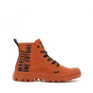 נעליים פלדיום לגברים Palladium Pampa Hi Future - כתום