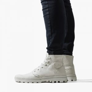 נעליים פלדיום לגברים Palladium Pampa Hi - לבן