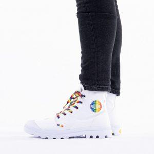 נעליים פלדיום לגברים Palladium Pampa Pampa Pride - לבן