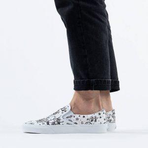 נעליים ואנס לגברים Vans Ua Classic Slip-On DIY - לבן