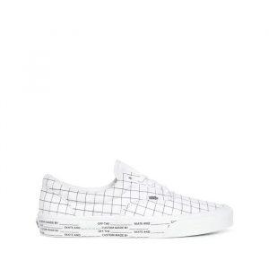 נעליים ואנס לגברים Vans Ua Era DIY - לבן