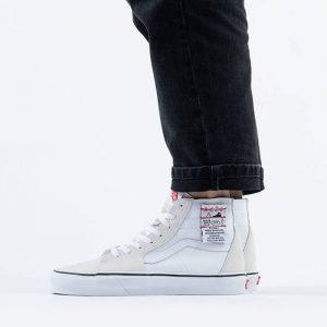 נעליים ואנס לגברים Vans Ua Sk8-Hi DIY - לבן