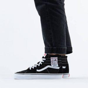 נעליים ואנס לגברים Vans Ua Sk8-Hi DIY - שחור