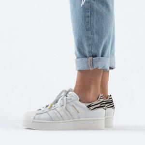 נעליים Adidas Originals לנשים Adidas Originals Superstar 2.0 Bold - לבן