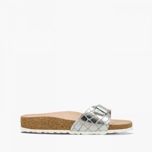 נעליים בירקנשטוק לנשים Birkenstock Madrid - כסףחום
