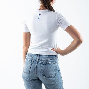ביגוד צ'מפיון לנשים Champion New Stretch Jersey - לבן