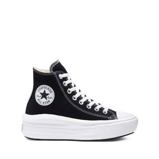 נעלי סניקרס קונברס לנשים Converse Chuck Taylor All Star Movie - שחור/לבן