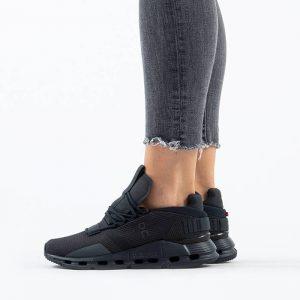 נעליים און לנשים On Running Cloudnova - שחור