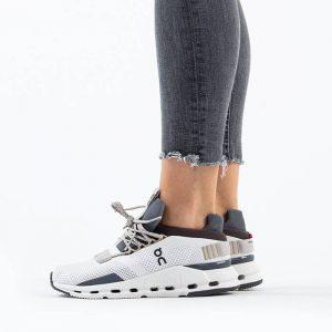 נעליים און לנשים On Running Cloudnova - אפור/לבן
