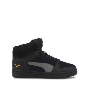 נעליים פומה לנשים PUMA Rebound Layup Fur SD - שחור
