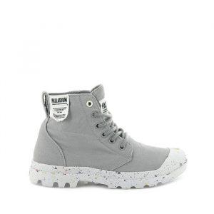 נעליים פלדיום לנשים Palladium Hi Organic - אפור