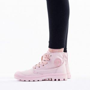 נעליים פלדיום לנשים Palladium Pampa Mono Chrome - ורוד
